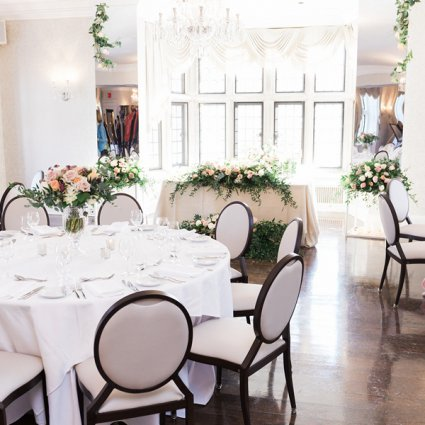 Wild Theory Floral and Event Design featured in 2019's Annual Wedding Open House at Estates of Sunnybrook