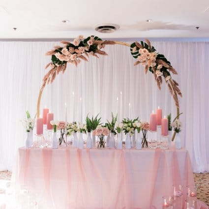Something Blue Weddings & Events featured in 2019's Annual Wedding Open House at Estates of Sunnybrook