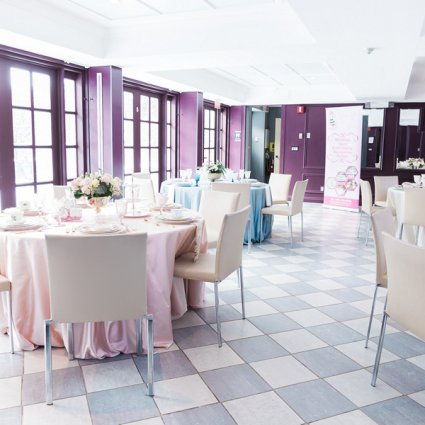 Sweet Bee Tea Party featured in 2019's Annual Wedding Open House at Estates of Sunnybrook