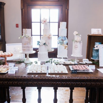 The Cocoa Cakery featured in 2019's Annual Wedding Open House at Estates of Sunnybrook