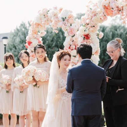 Kettle Creek Weddings featured in Cynthia and Sean's Breathtaking Wedding at Hacienda Sarria