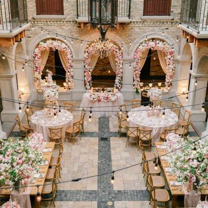 Hacienda Sarria featured in Cynthia and Sean's Breathtaking Wedding at Hacienda Sarria