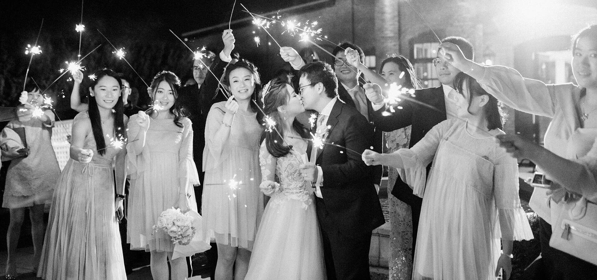 Hero image for Cynthia and Sean's Breathtaking Wedding at Hacienda Sarria