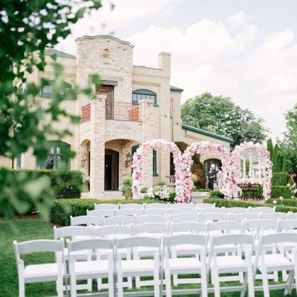 Rainbow Chan Weddings and Events featured in Cynthia and Sean's Breathtaking Wedding at Hacienda Sarria