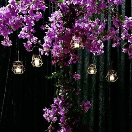 DT Floral & Décor featured in 10 Wedding Floral Trends for 2019 You Need to See