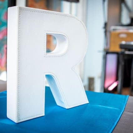 Ampersand Marquee Letters featured in Rediscovering The Richmond at Their 2019 Open House
