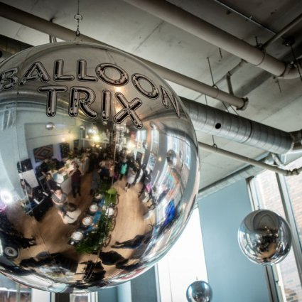 Balloon Trix featured in Rediscovering The Richmond at Their 2019 Open House