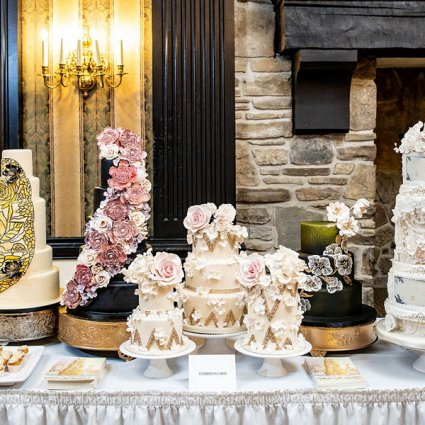 Patricia's Cake Creations featured in The 2019 Wedding Open House at Old Mill Toronto