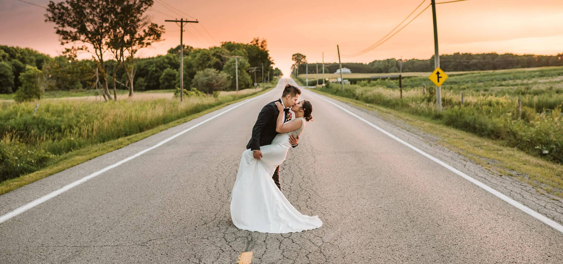 Hero image for Toronto Wedding Photographers Share Their Favourite/Best Kiss Photos
