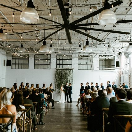 Airship 37 featured in Ashley and Ben's Rustically Elegant Airship37 Wedding