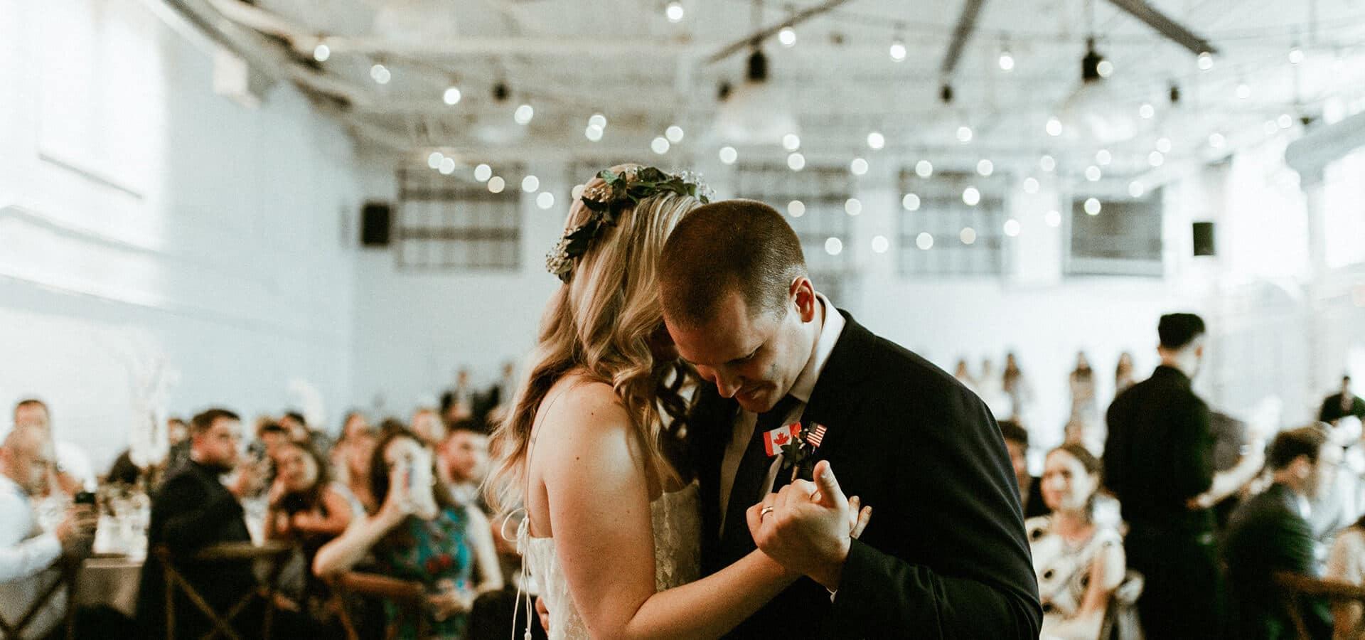 Hero image for Ashley and Ben's Rustically Elegant Airship37 Wedding