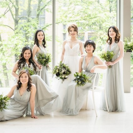 The Royal Conservatory featured in Wei + Jim's Chic Wedding at the Royal Conservatory of Music