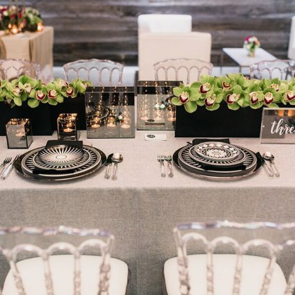 MB Designs Inc | Decor Rentals featured in A Wedding Open House Celebrating the Grand Opening of Eglinto…