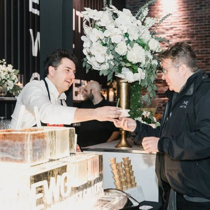 Love Gelato featured in A Wedding Open House Celebrating the Grand Opening of Eglinto…