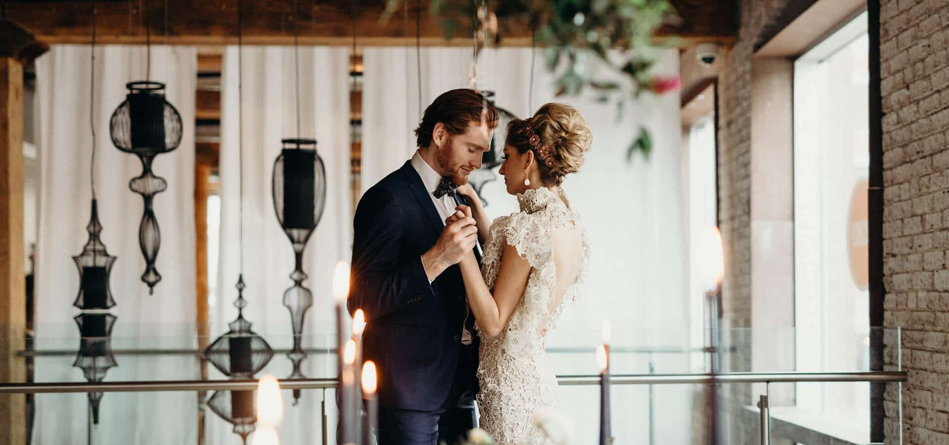 Hero image for Styled Shoot: A Celestial Love in the City