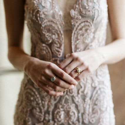 Narces featured in Styled Shoot: A Celestial Love in the City