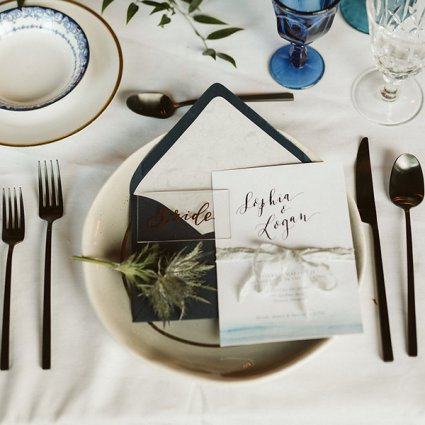 The Perfect Table featured in Styled Shoot: A Celestial Love in the City