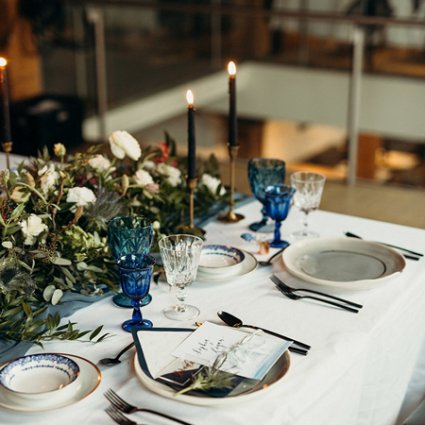 Hotel Ocho featured in Styled Shoot: A Celestial Love in the City