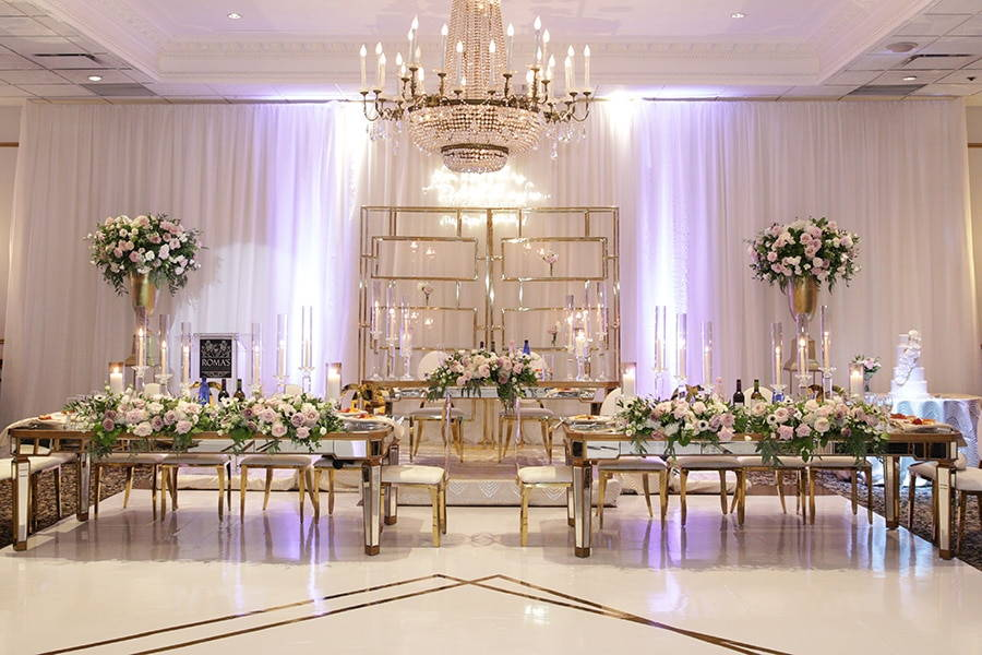 15 Beautiful Banquet Halls In The Mississauga Area