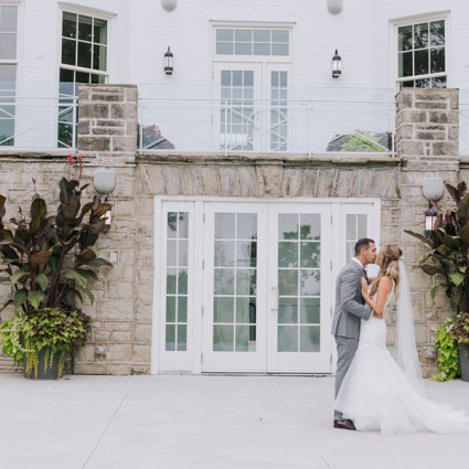 Harding Waterfront Estate featured in Ella and Mike's Elegant Wedding at Harding Waterfront Estate