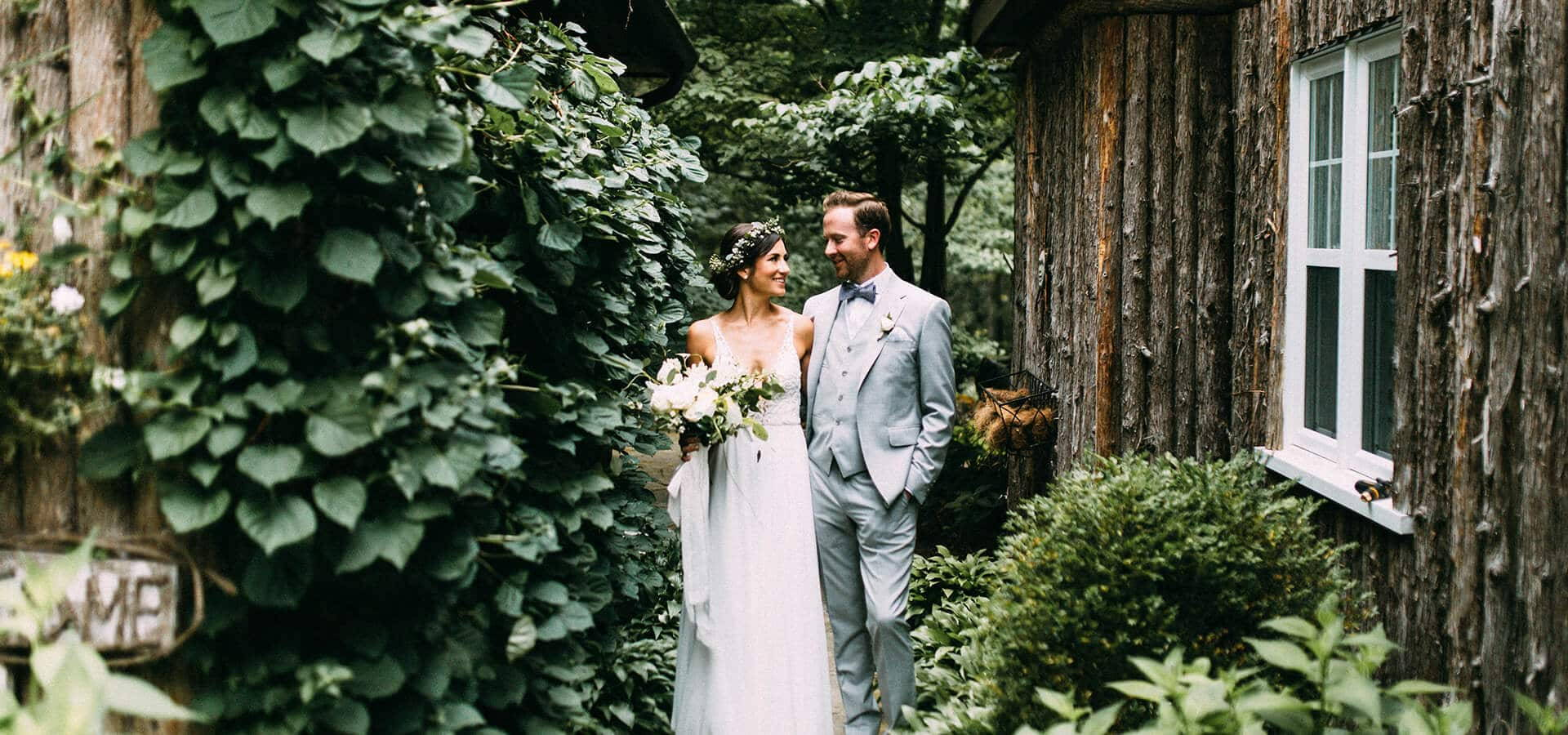 Hero image for Kelly and Sean's Romantic Wedding at Ravine Vineyards