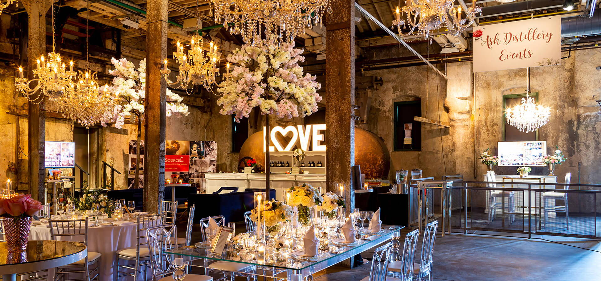 Hero image for Distillery Events' 2019 Annual Wedding Open House