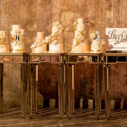 Le Dolci featured in Distillery Events' 2019 Annual Wedding Open House