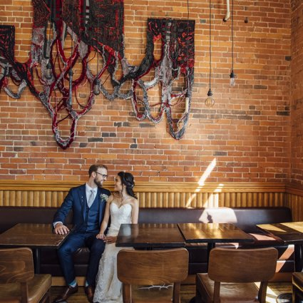 Gladstone Hotel featured in Vanessa and Jeff's Intimate Wedding at the Gladstone Hotel