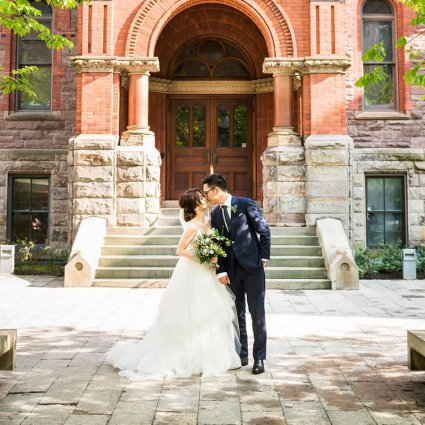 Thumbnail for Wei + Jim's Chic Wedding at the Royal Conservatory of Music