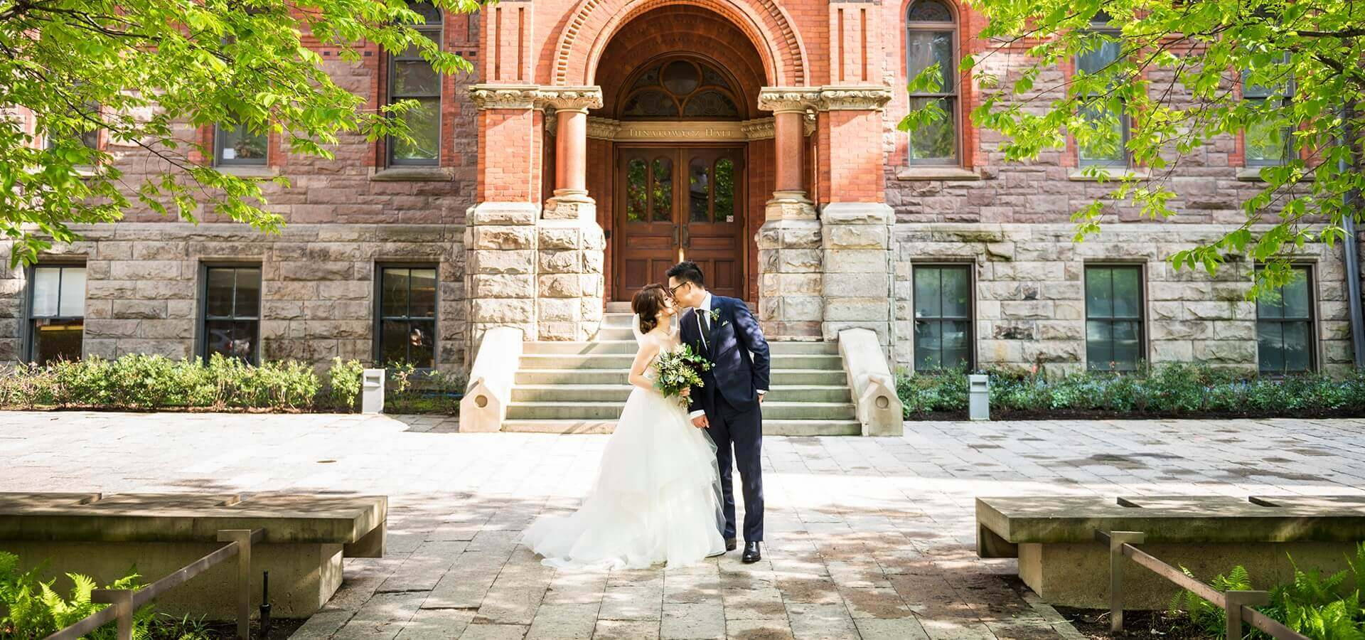 Hero image for Wei + Jim's Chic Wedding at the Royal Conservatory of Music