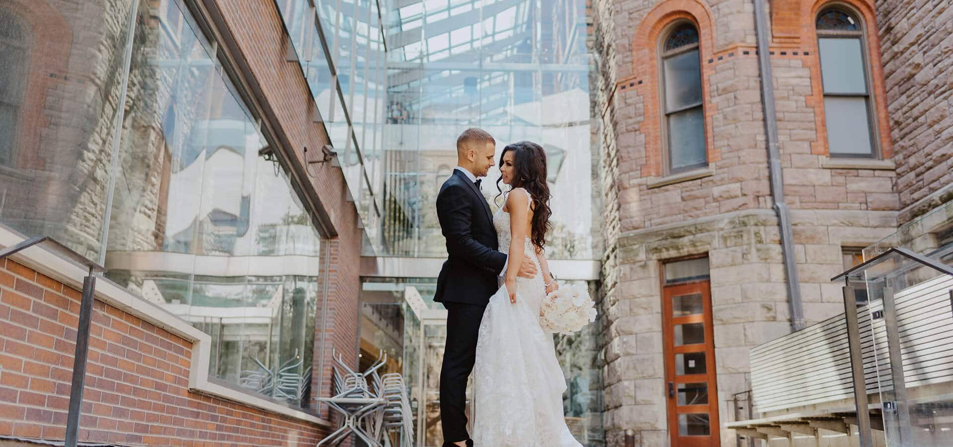 Hero image for Jenny and Alex's Elegant Nuptials at the Royal Conservatory of Music