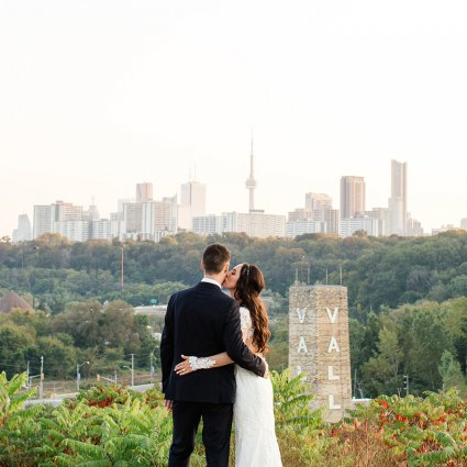 Thumbnail for Krista & Kyle's Industrial Wedding at Evergreen Brick Works