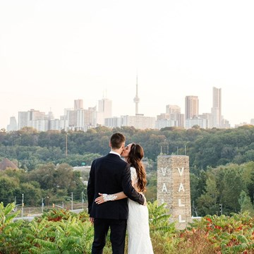 Krista & Kyle's Industrial Wedding at Evergreen Brick Works