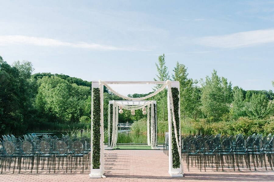 Evergreen Brick Works Outdoor Wedding Venue