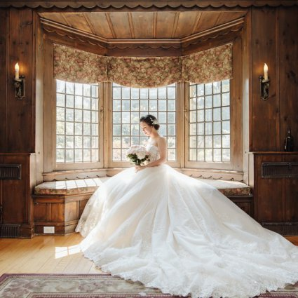 Paletta Mansion featured in Kathy and Kevin's Lovely Wedding at Paletta Mansion
