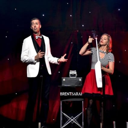 Brent and Sarah's Comedy Magic Show featured in 22 Awesome Entertainment Ideas to Take Your Event to the Next…