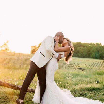 Thumbnail for Linda and Amir's Stunning Lilac Farm Wedding