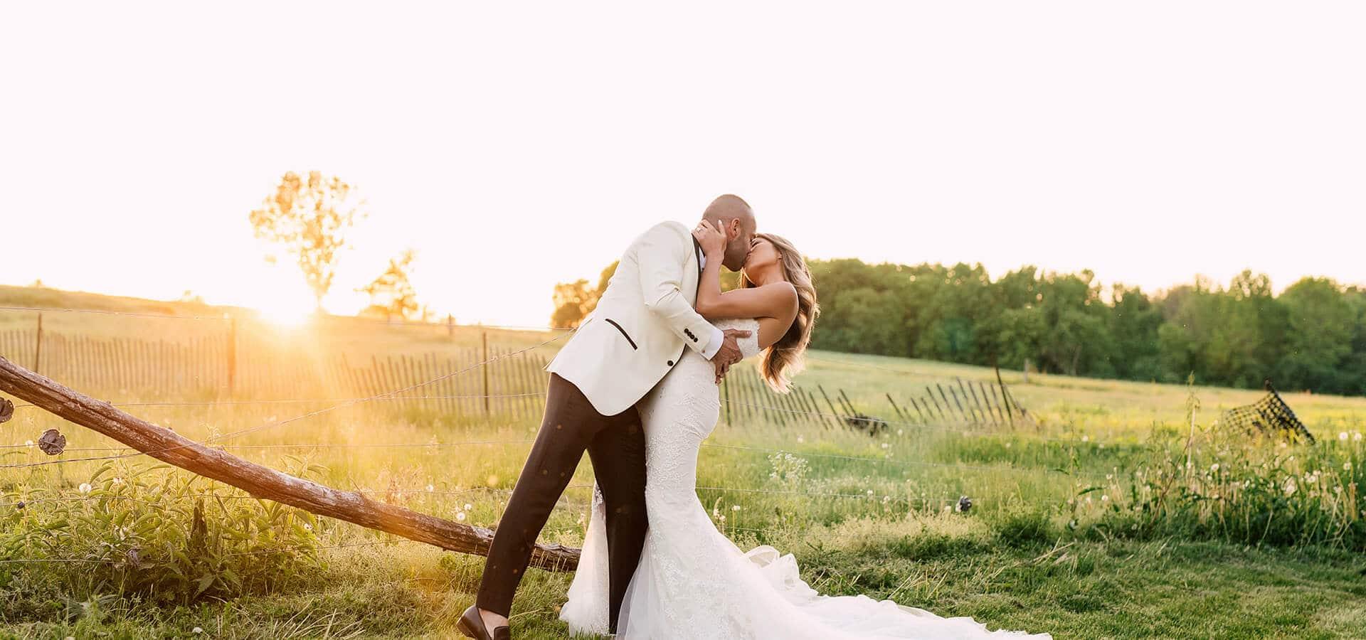 Hero image for Linda and Amir's Stunning Lilac Farm Wedding