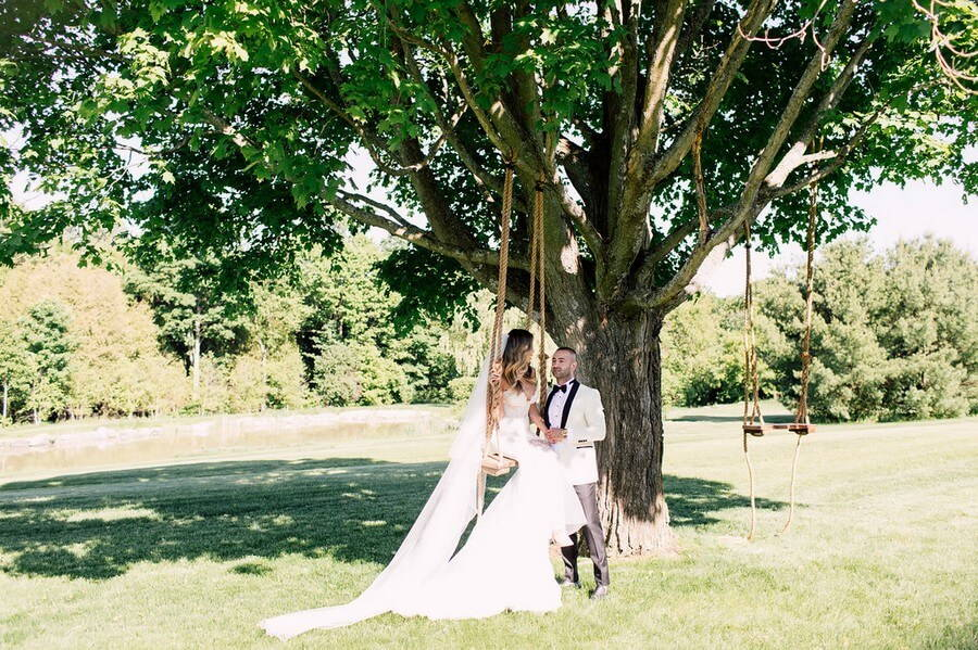 Lilac Farm Wedding