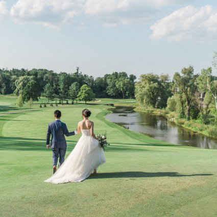 Bayview Golf & Country Club featured in Kimberly and Jonathan's Magical Wedding at the Bayview Golf a…