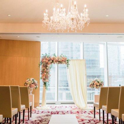 Shangri-La Hotel, Toronto featured in Christina and Tao's Sweet Shangri-La Wedding
