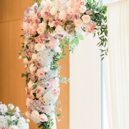 Wedella featured in Christina and Tao's Sweet Shangri-La Wedding
