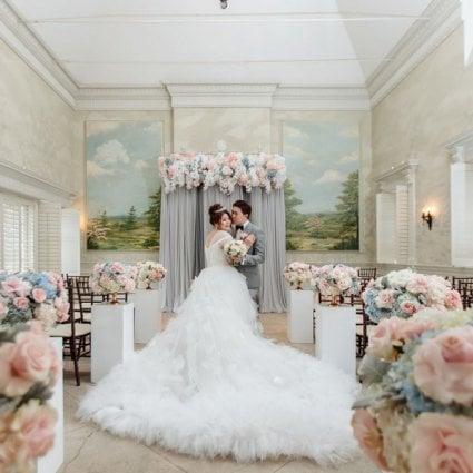 Graydon Hall Manor featured in Olivia and Benson's Magical Graydon Hall Wedding