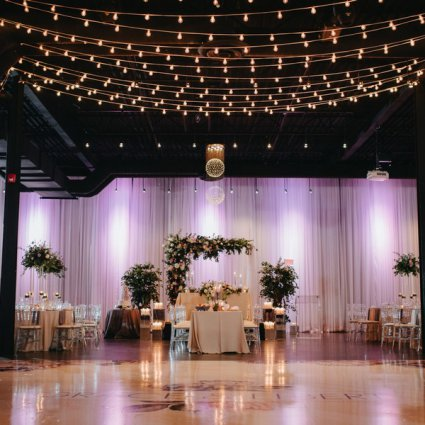 Axe Media Group featured in Grace and Elbert's Urban Chic Wedding at York Mills Gallery