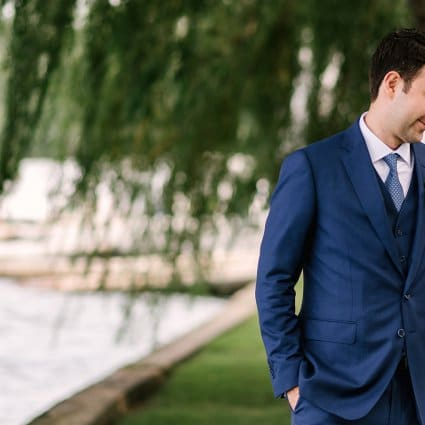 Thumbnail for Megan and Santiago's Lakeside Wedding at the Royal Canadian Y…