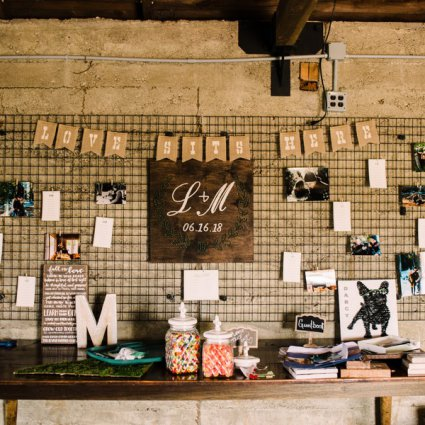 Marvelle Events featured in Lauren and Mark's Classic, Laid Back Cambium Farms Wedding