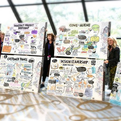 Visualtalks - Live Drawing featured in 22 Awesome Entertainment Ideas to Take Your Event to the Next…