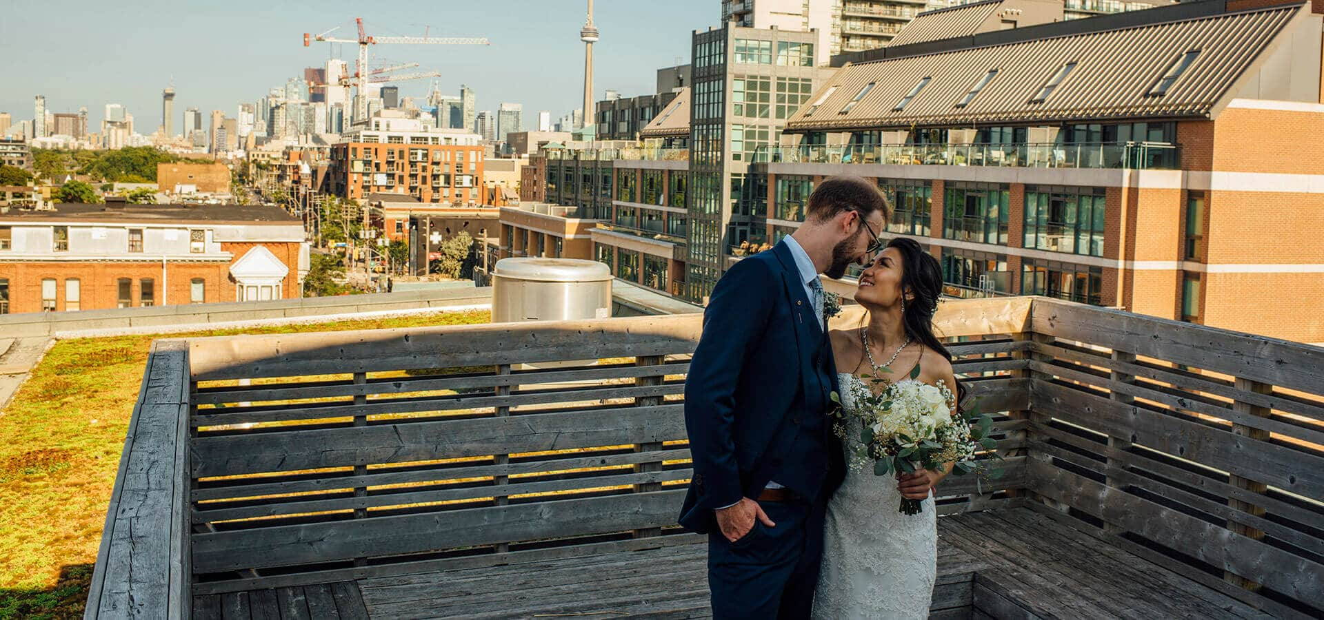 Hero image for Vanessa and Jeff's Intimate Wedding at the Gladstone Hotel