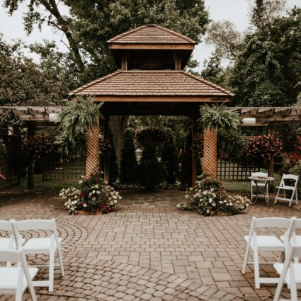 The Madison Greenhouse Event Venue featured in Chantal and Sam's Intimate Madison Greenhouse Wedding