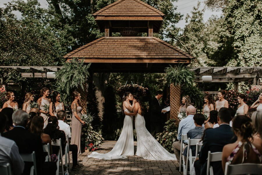 Wedding at The Madison Greenhouse Event Venue, Newmarket, Ontario, Bows & Lavender, 33
